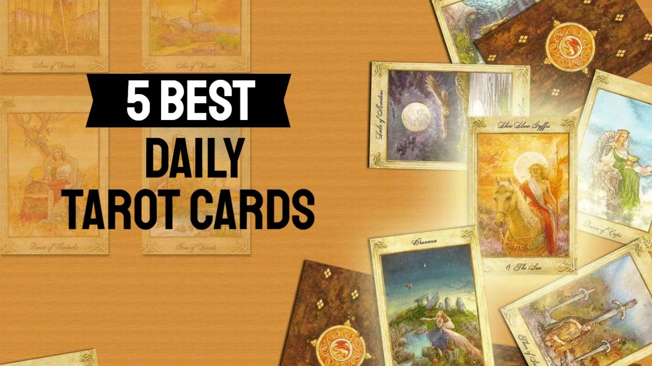 5-best-daily-tarot-cards